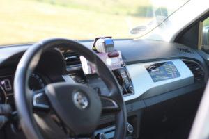 Interiér áut Corto Taxi